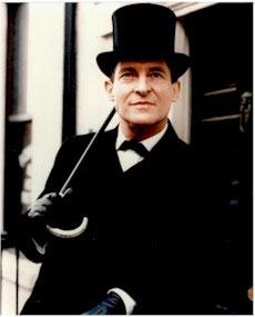 جرمی برت در نقش شرلوک هلمز