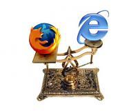 فایرفاکس در برابر اینترنت اکسپلورر