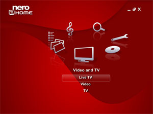 Nero Home - TV, Live TV