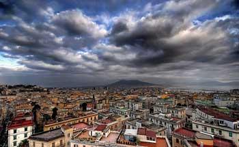 نمایی دیگر از ناپل ایتالیا