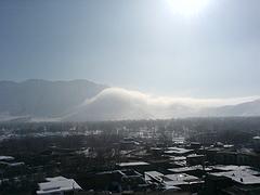 کوه، ابر، برف