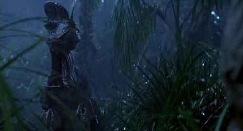 دایلافوساروس در فیلم پارک ژوراسیک