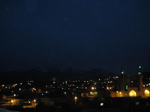 نمونه عکس در شب
