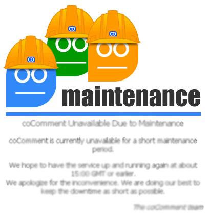 cocomment meintenance logo