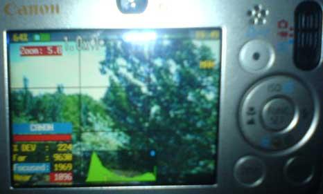 نمونهای از امکاناتی که با میانافزار CHDK به دوربینهای کانن اضافه میشود
