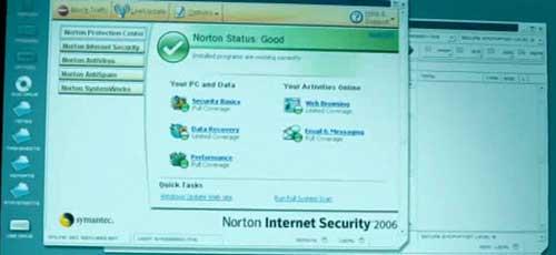 ویروس یاب نورتون در فیلم اتمام حجت بورن