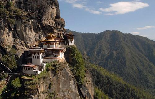 معبدی در بوتان