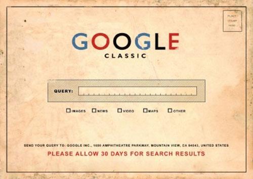 گوگل پیش از اینترنت