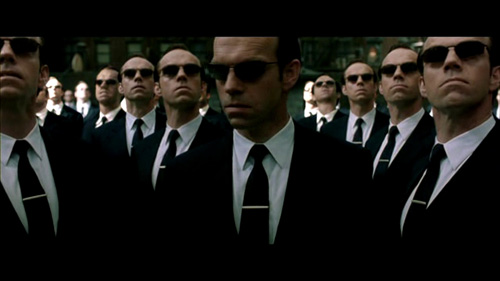 Mr Smith In Matrix Reloaded : Repeated himself and failed!